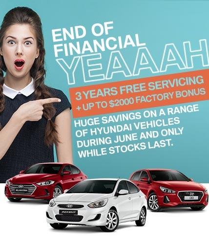 End of Financial Yeaaaaah