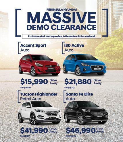 Massive Demo Clearance