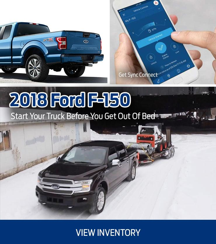 2018 New Ford F-150 at Hallmark Ford in Surrey BC