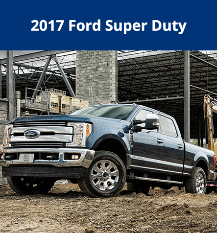 2017 New Ford Super Duty at Hallmark Ford in Surrey BC