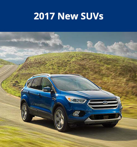 2017 New Ford SUVs at Hallmark Ford in Surrey BC
