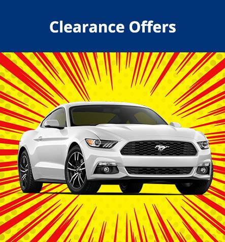 Clearance Offers at Hallmark Ford in Surrey BC