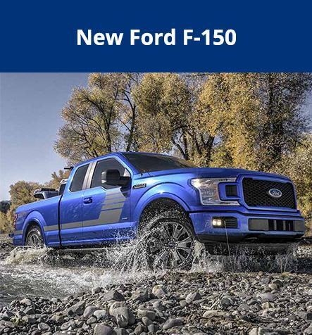 New Ford F-150 at Hallmark Ford in Surrey BC