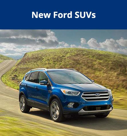 New Ford SUVs at Hallmark Ford in Surrey BC