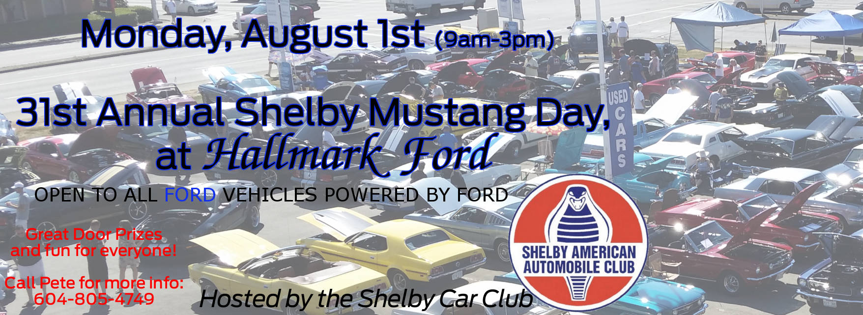 BC Day Shelby Mustang Show