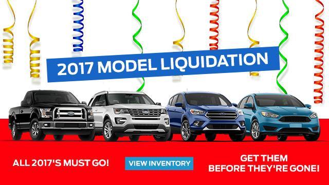 2017 Liquidation Sale Dupuis Ford