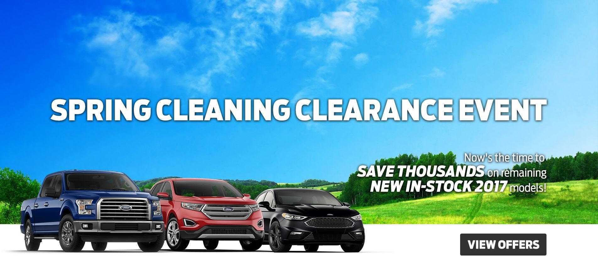 2017 Spring Clearance Glenoak Ford Downtown