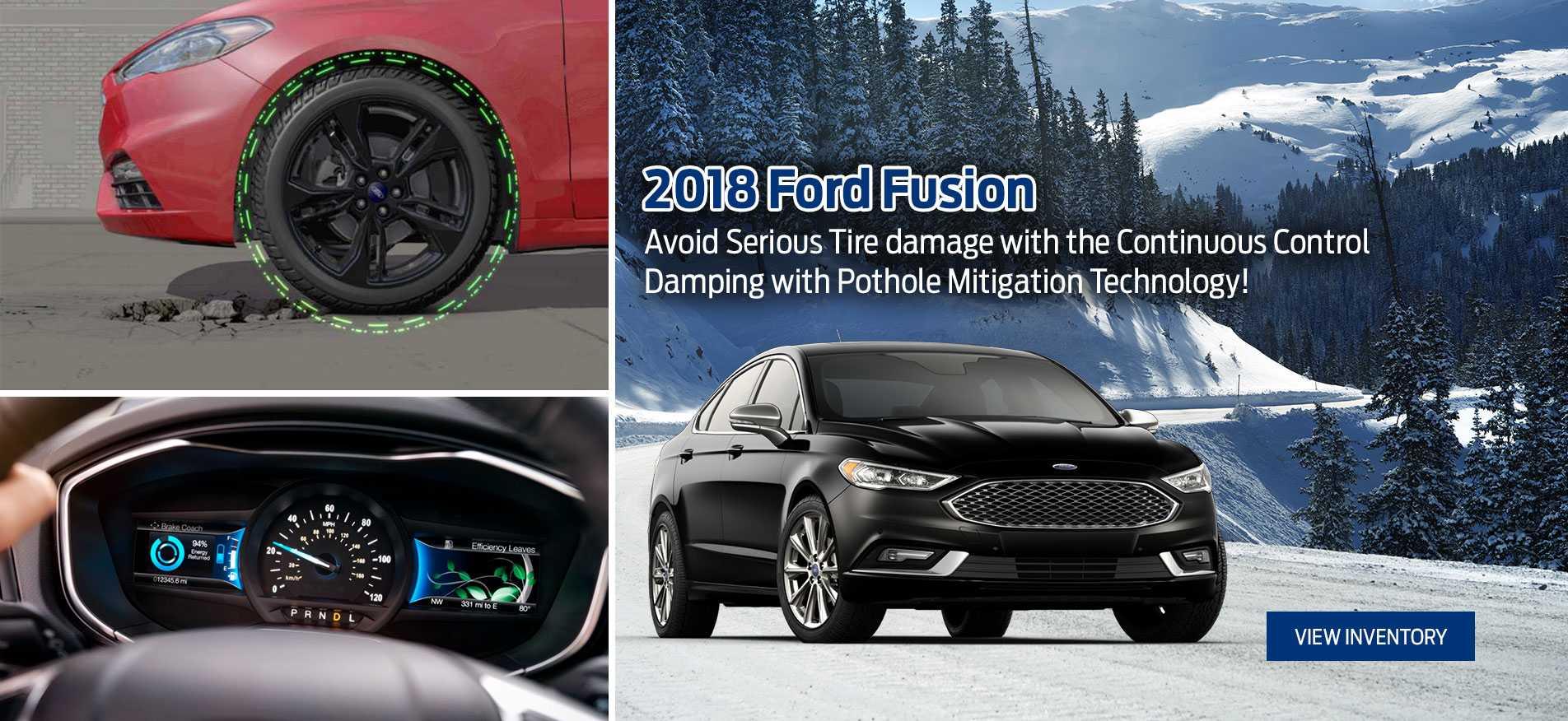 2018 Fusion Glenoak Ford Victoria BC