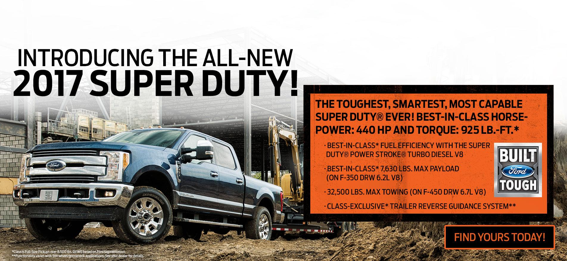 All new Super Duty at Glenoak Ford
