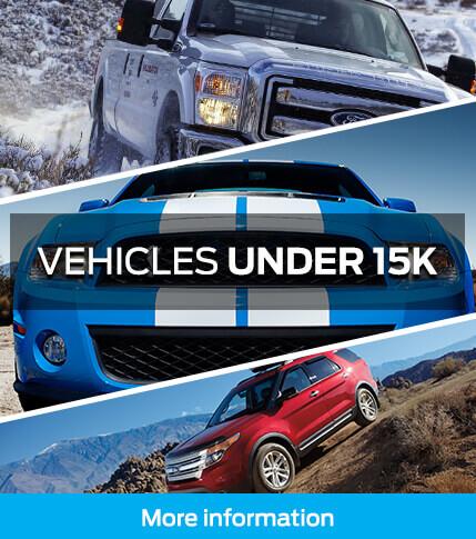 vehicles under 15k