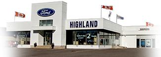 Highland Ford Sales, Sault Ste. Marie Dealership