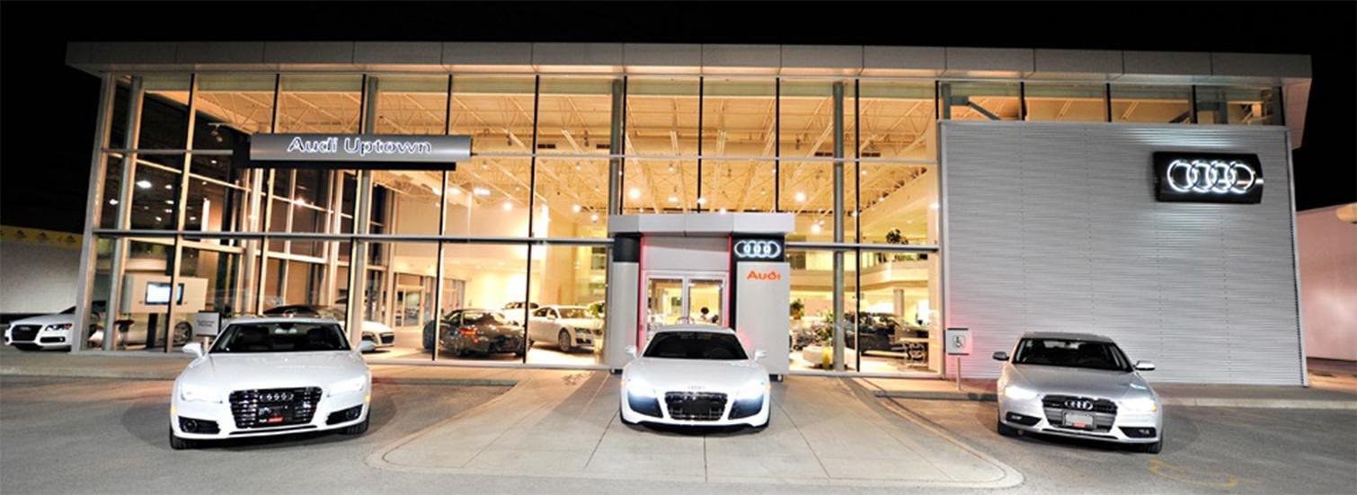 Markham Audi Dealership Serving Markham Audi Dealer Audi Uptown - Audi car showroom