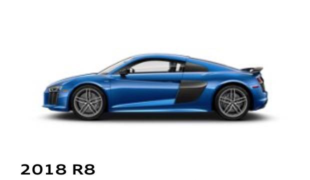 R8 Coupe Audi Uptown