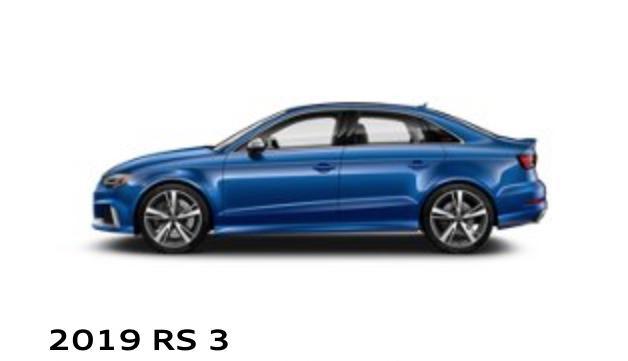 RS 3 Sedan Audi Uptown