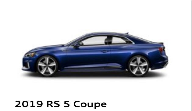 RS 5 Coupe Audi Uptown