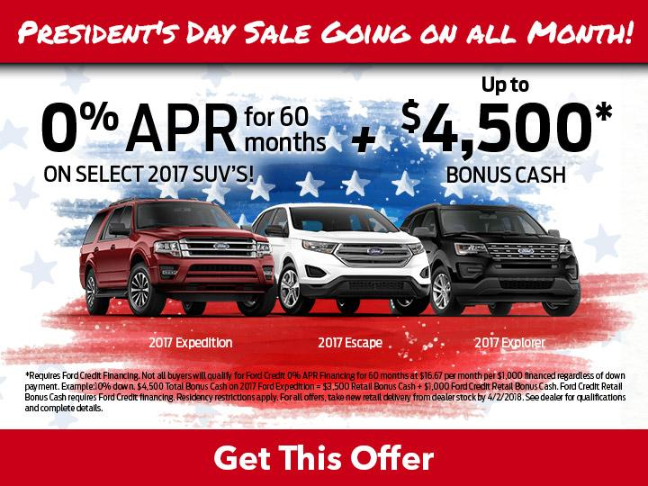 Ford SUV Offers