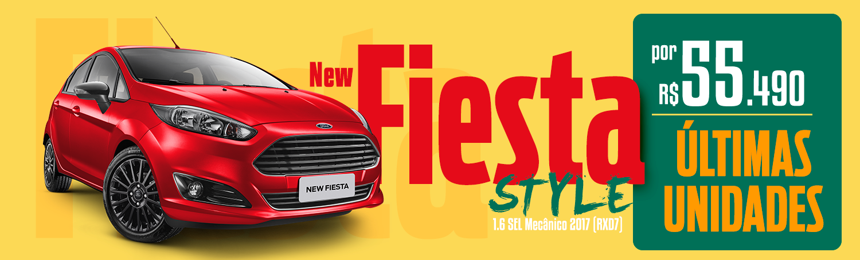 Banner New Fiesta