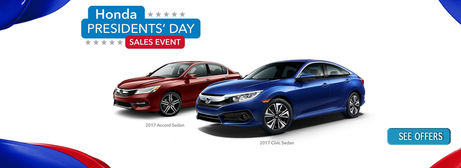 2017 Honda Presidents Day Sale