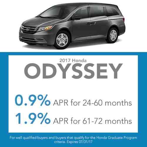 2017 Odyssey Finance Offer