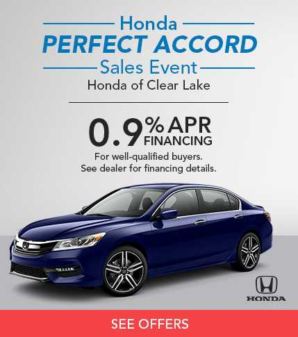 Honda Perfect Accord Sales Event