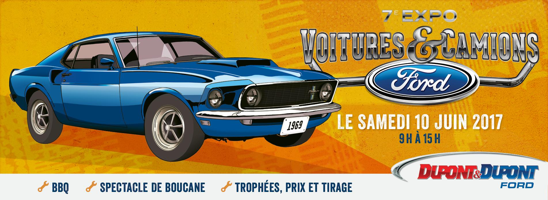 expo ford 2017 club mustang gatineau