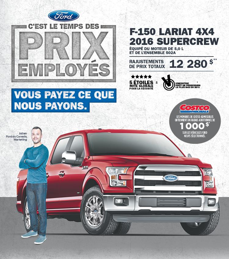 ford f150 gatineau mont-bleu