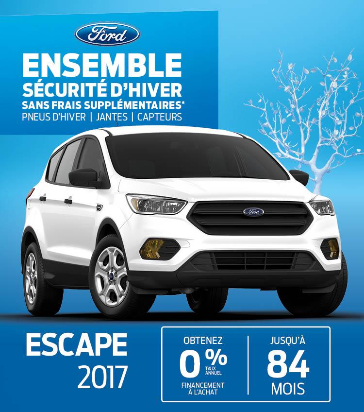 ford Escape gatineau neuf secteur mont-bleu