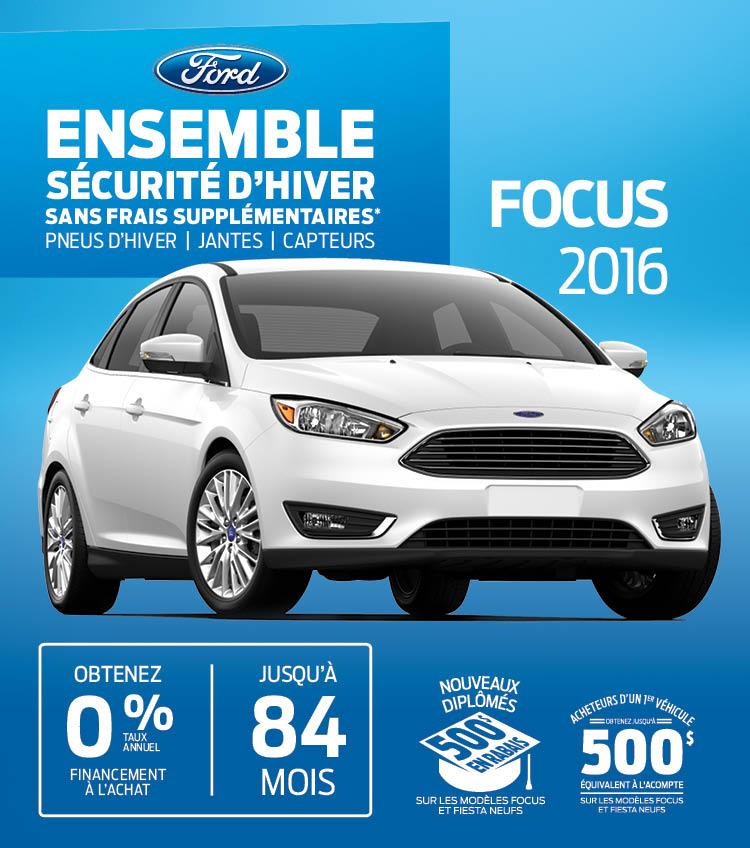ford Focus gatineau neuf secteur mont-bleu