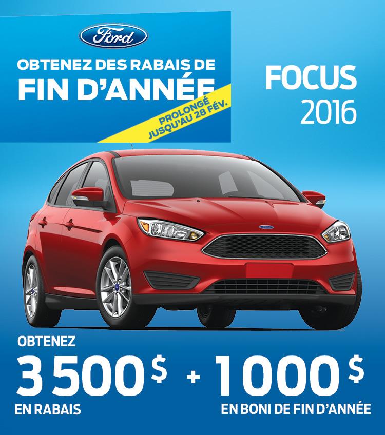 ford focus gatineau buckingham 2016 special