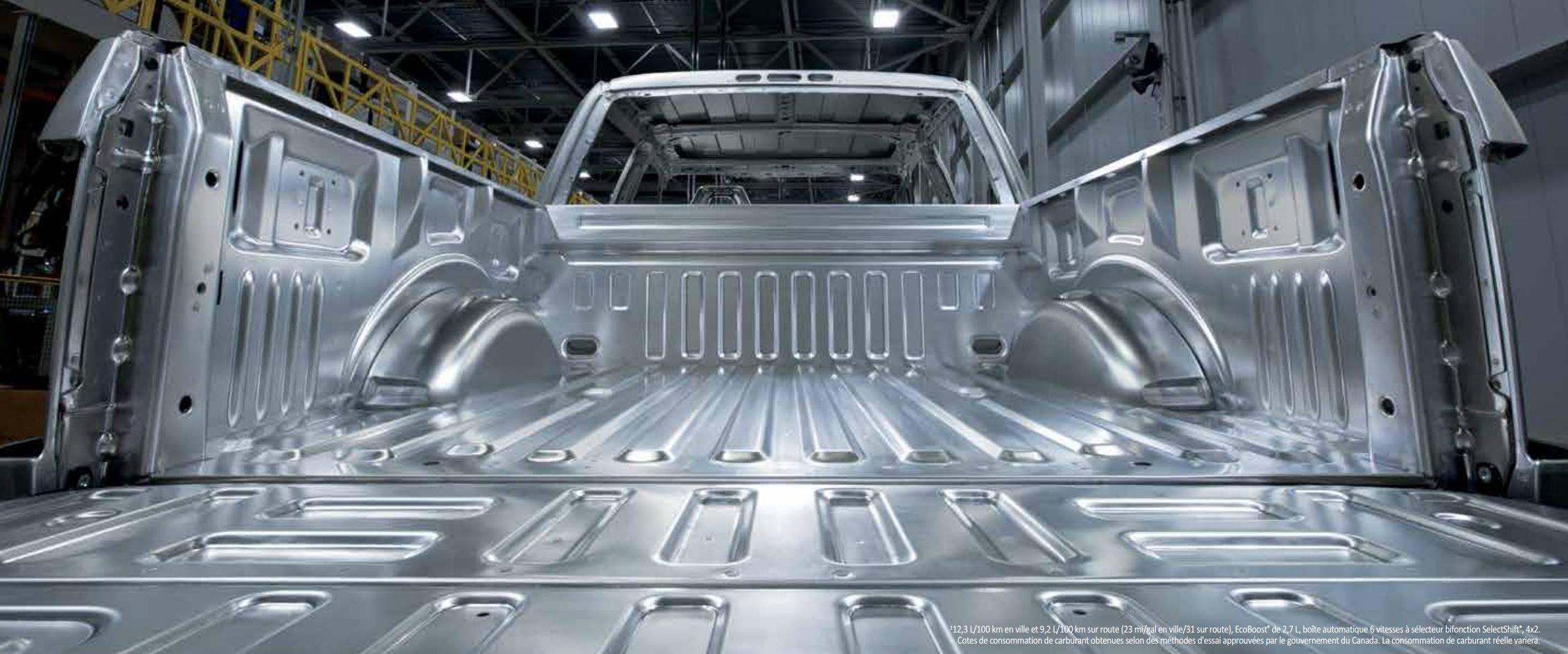 Ford f-150 aluminium camion gatineau