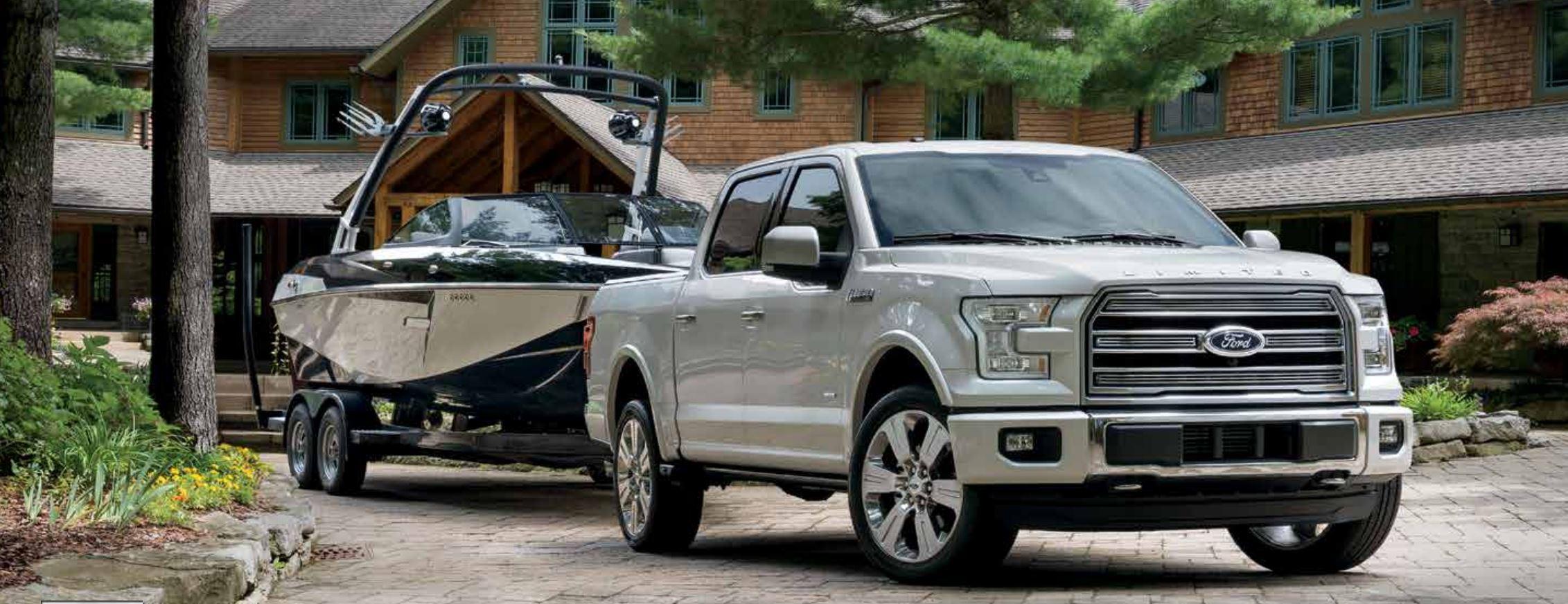 Ford f-150 capacite de remorquage secteur mont-bleu