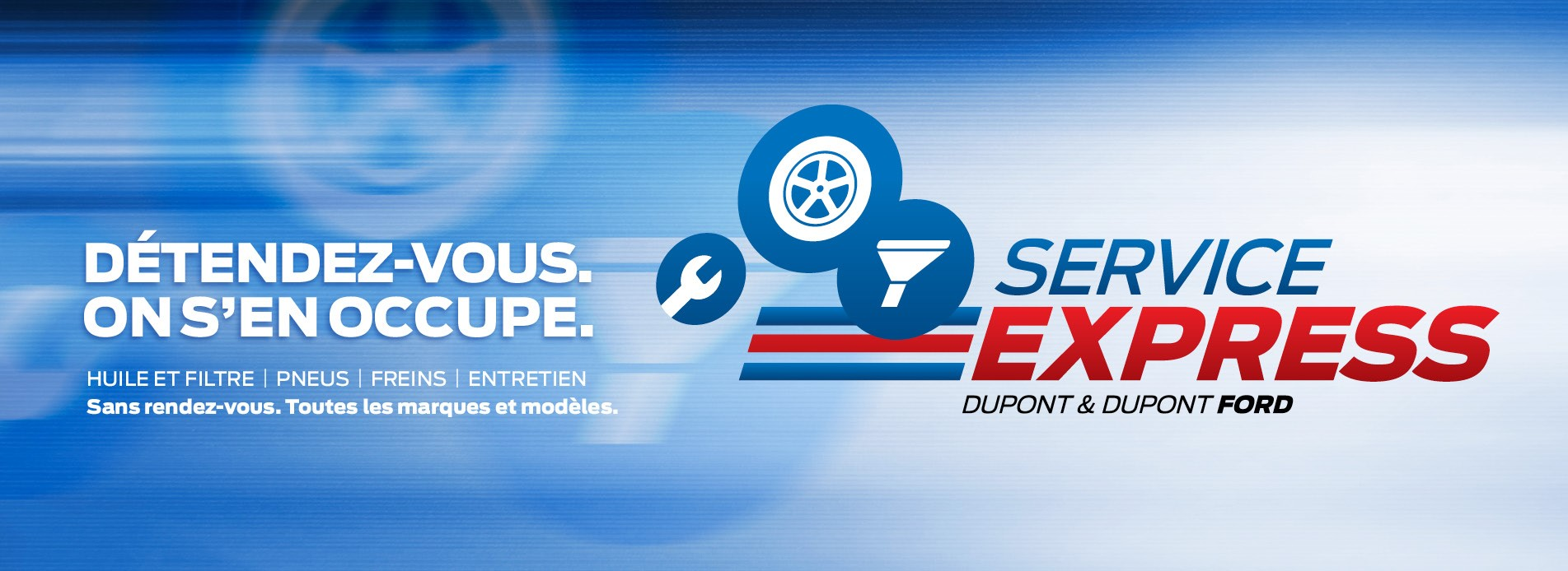 Service express rapide Dupont Fords Gatineau hull