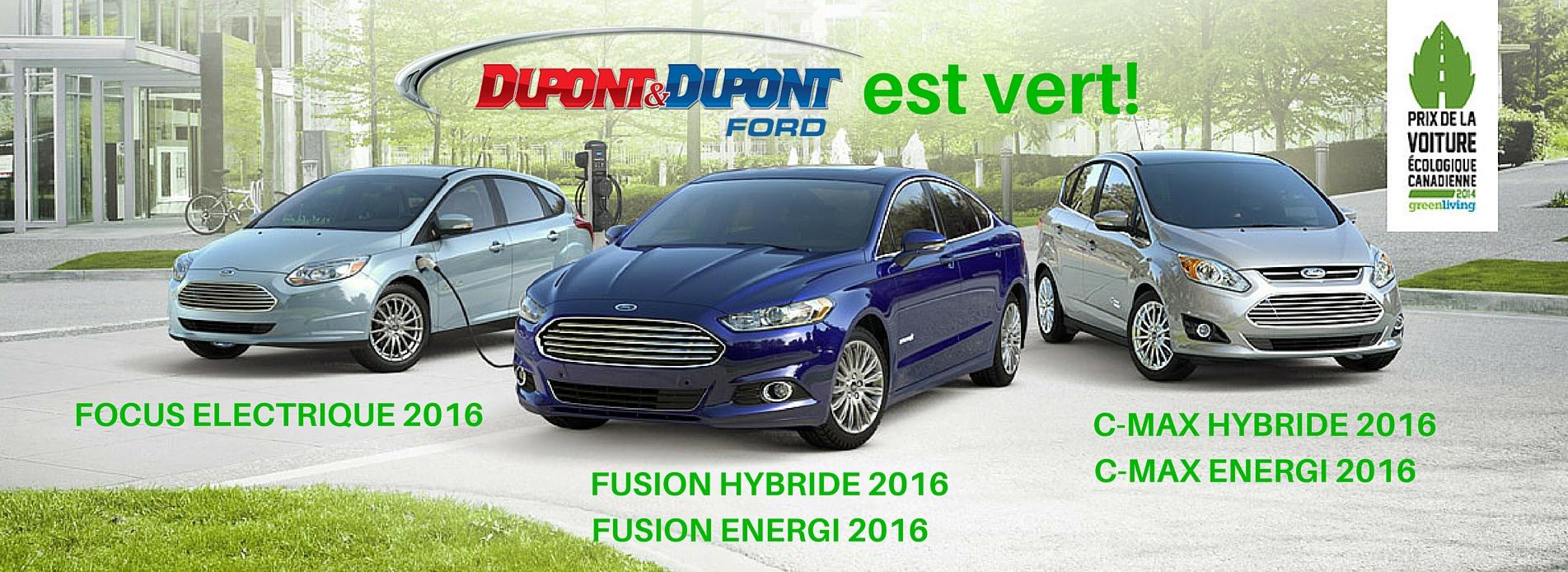 Auto hybride electrique ford gatineau ottawa