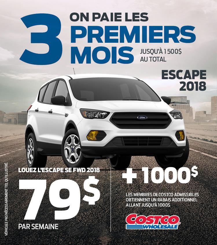 ford escape 2018 gatineau