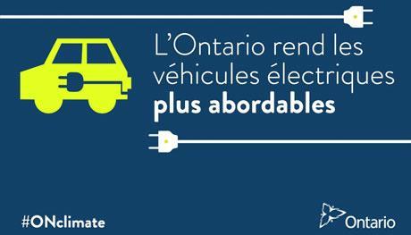 programme rabais ontario véhicules électriques