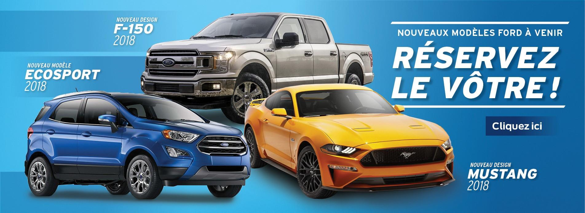 ford ecosport f-150 mustang 2018 gatineau