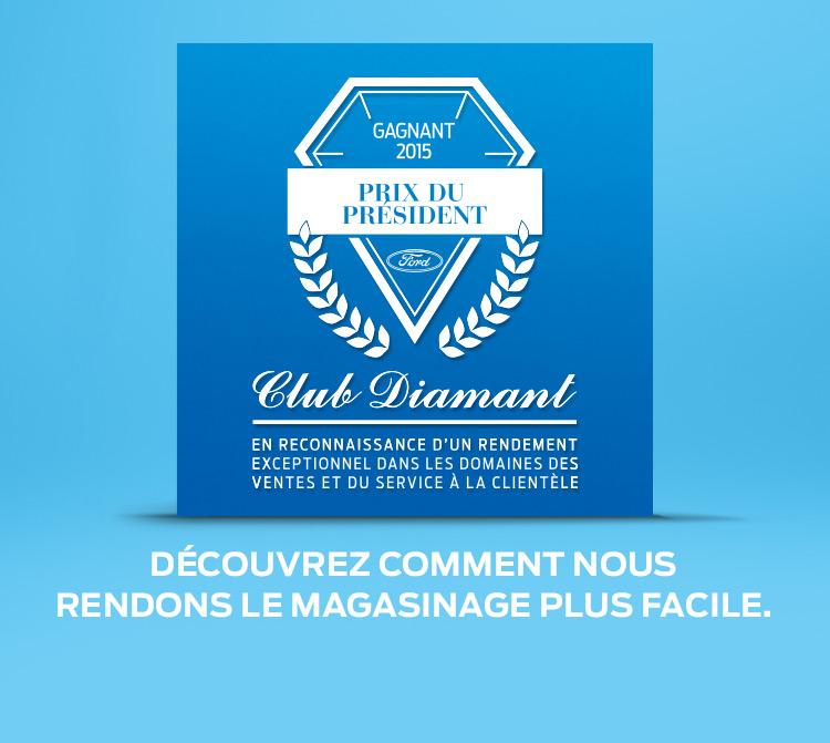 Club Diamant - Prix du président