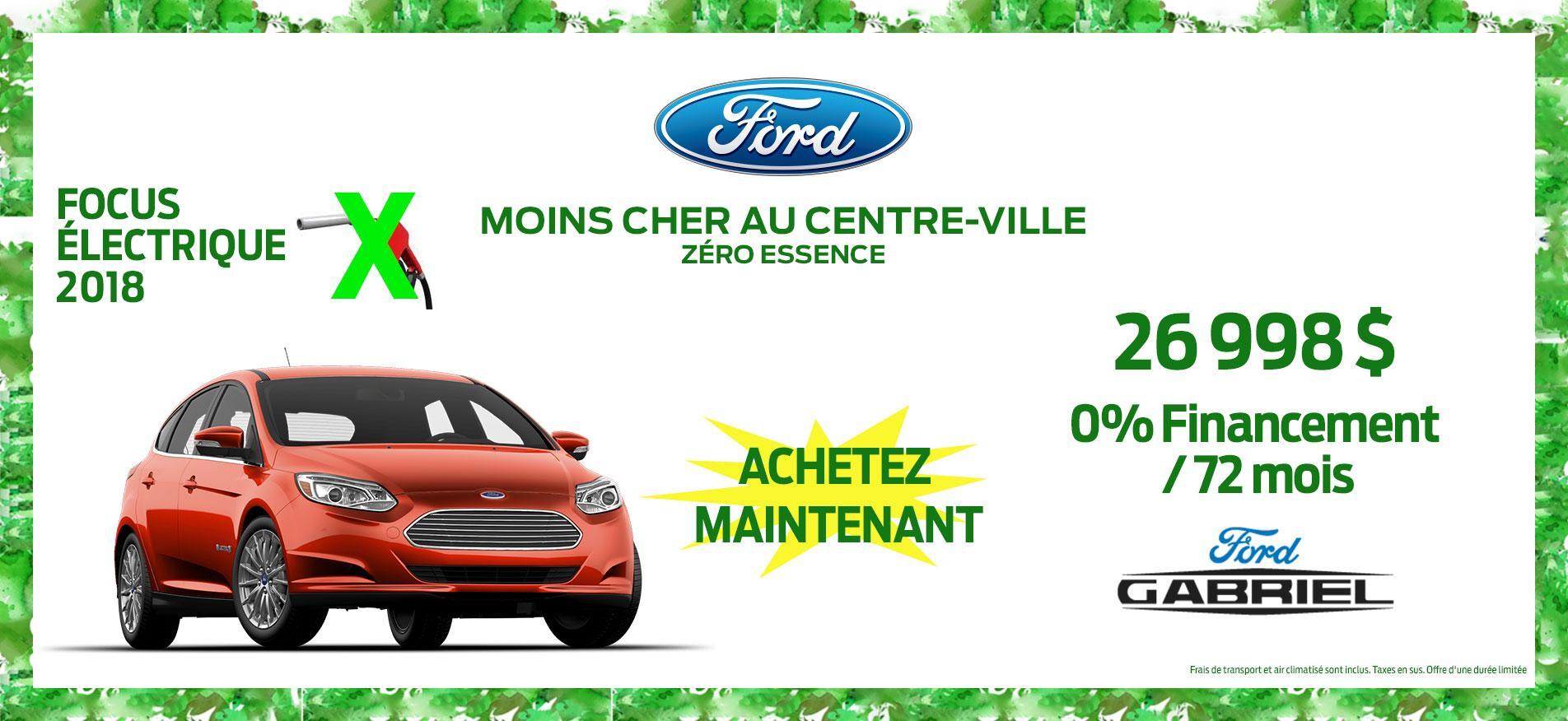 Vehicules verts Ford Gabriel