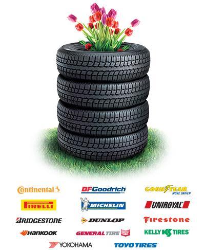 Spring tire change season
