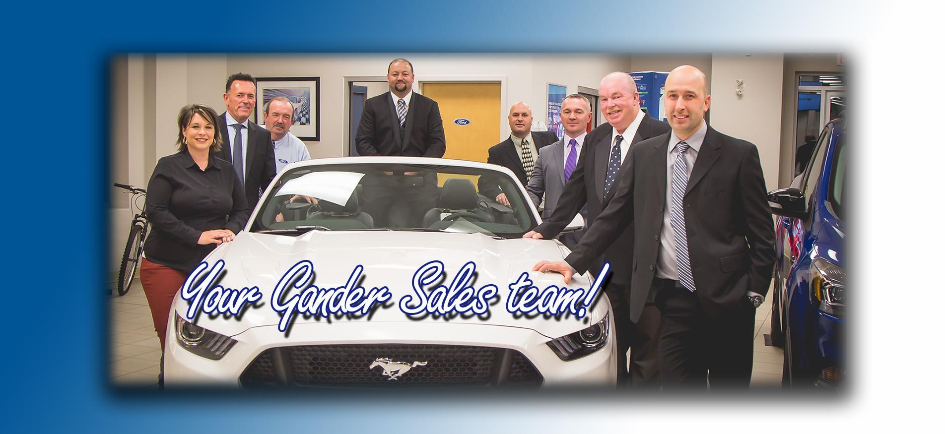 Gander Sales Team