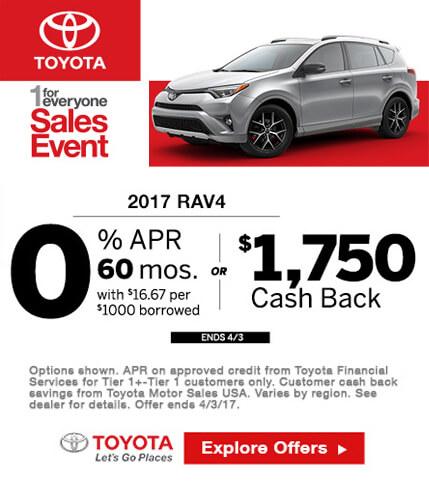 2017 Toyota RAV4 Special