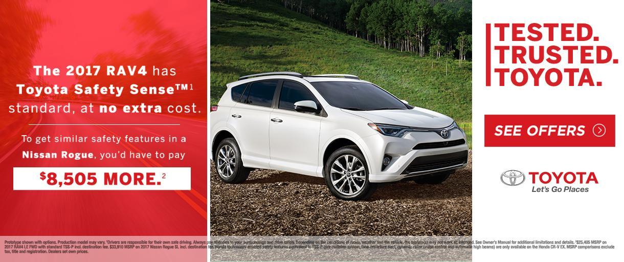 2018 Toyota RAV4 Special