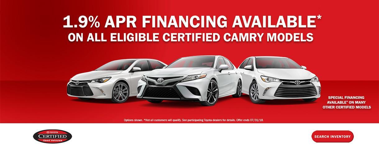 Toyota CPO APR Special