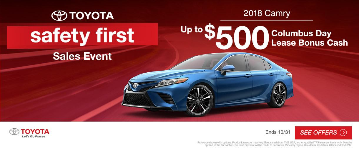 2018 Toyota Camry Sales Event