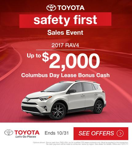 2017 Toyota RAV4 Sales Event