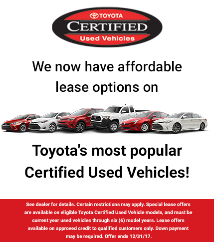 Lease Options - TCUV