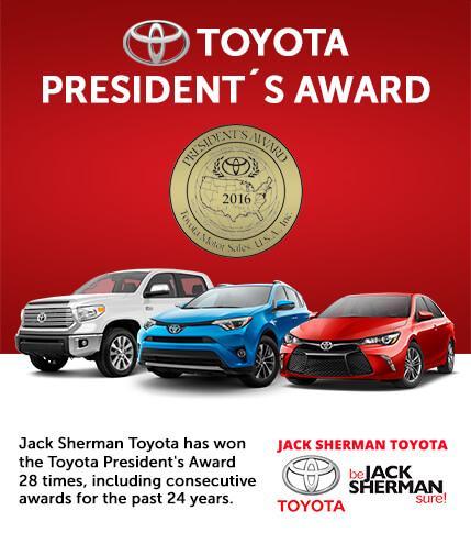 Toyota President's Award Winner For the 28th Time