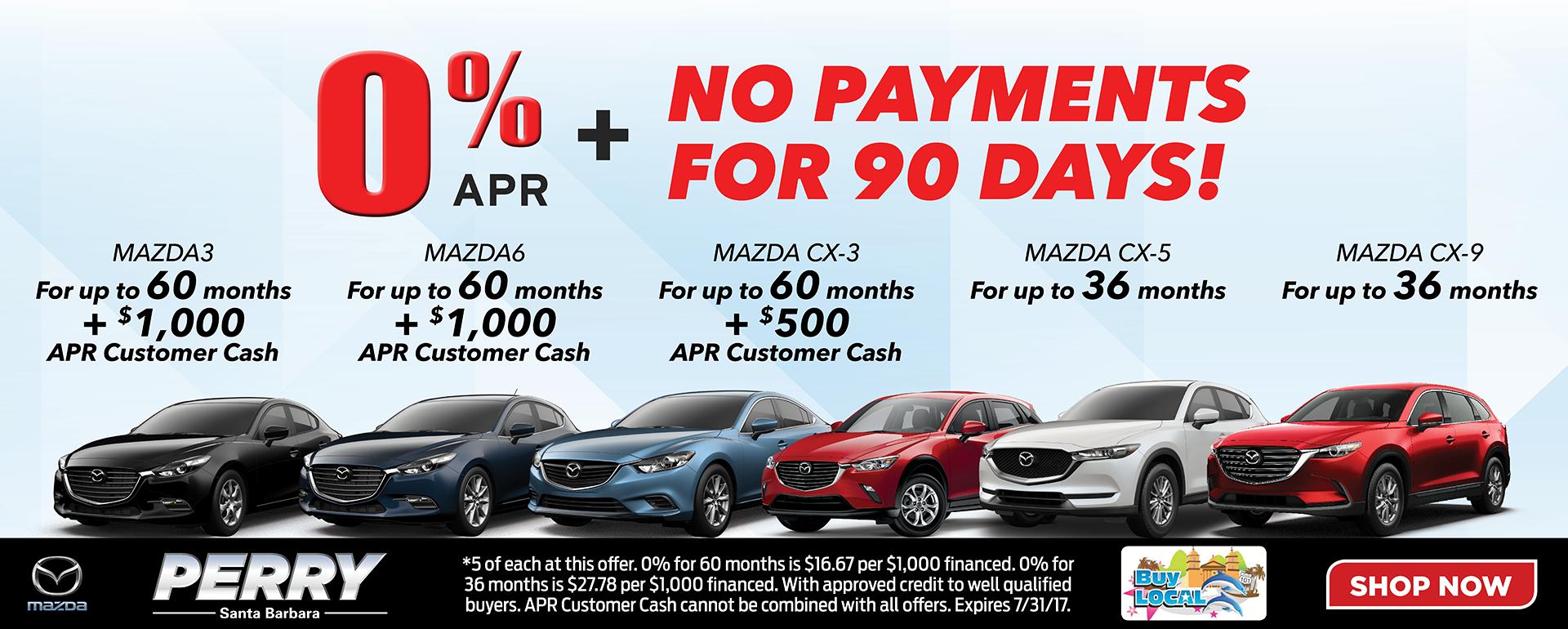 Perry Mazda APR Specials