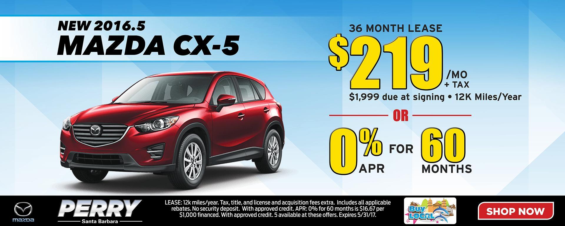 New Mazda CX-5 Special