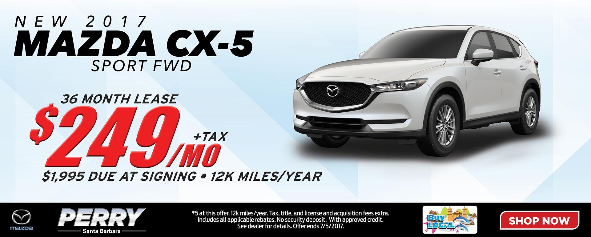 2017 Mazda CX-5 Lease Special